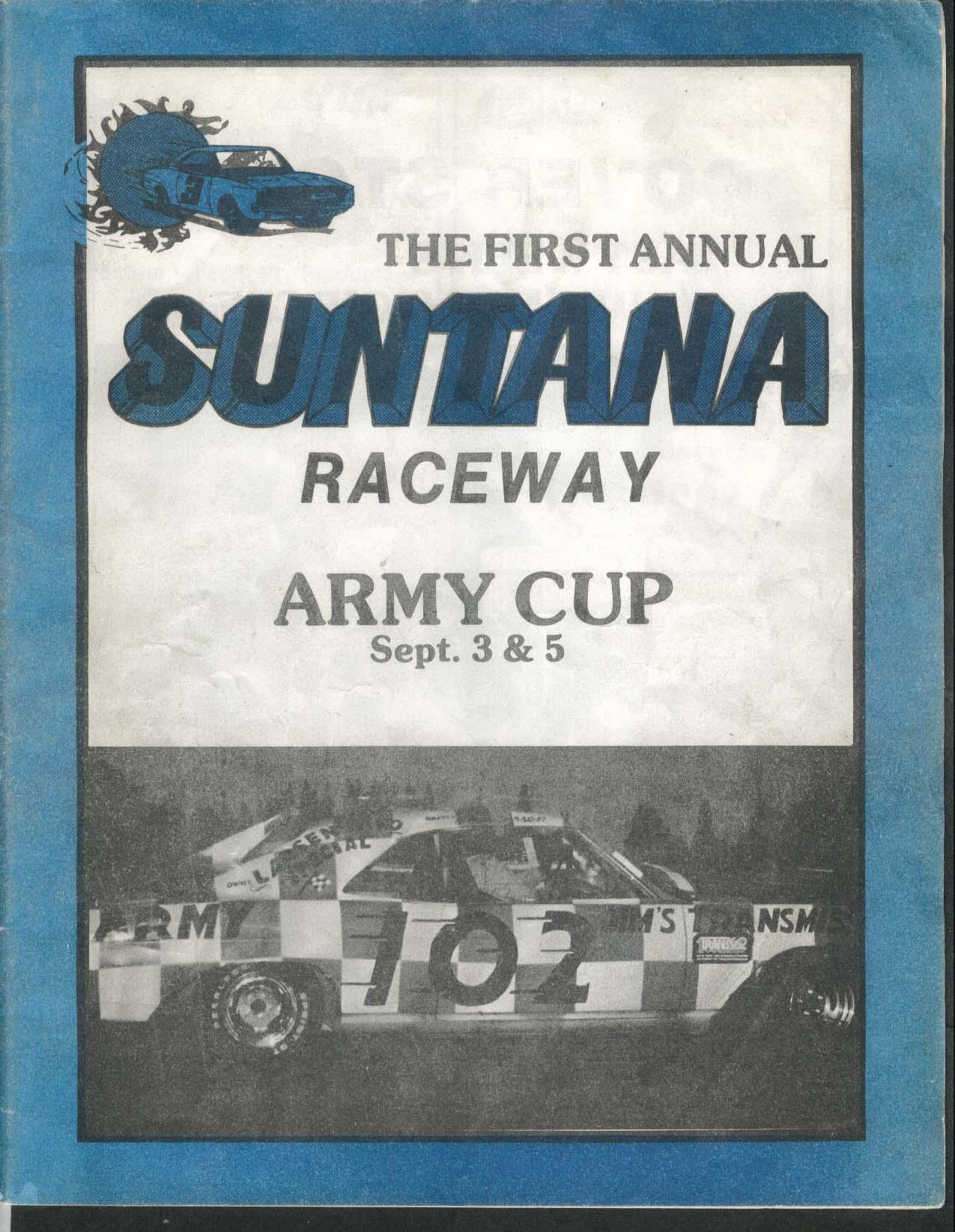 1st Annual Suntana Raceway Army Cup 1970s