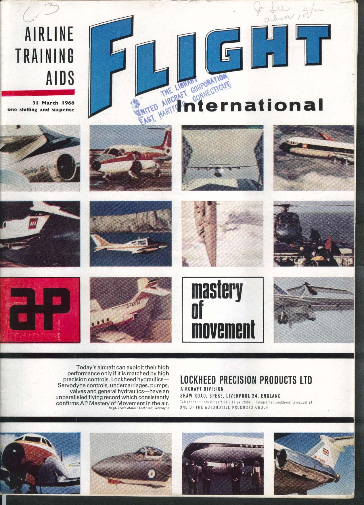 FLIGHT INTERNATIONAL Wallis Autogyro WA-116 3/31 1966