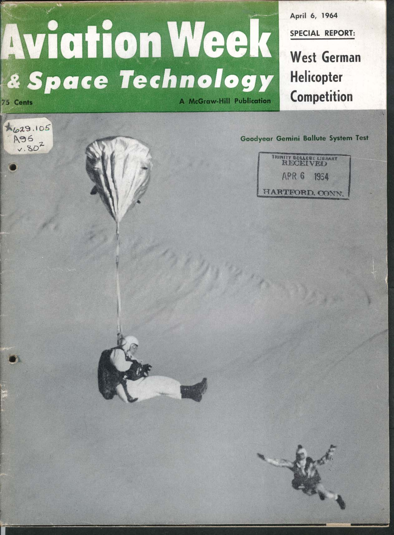 AVIATION WEEK & Space Technology OH-4A Do.28D CF700 4/6 1964