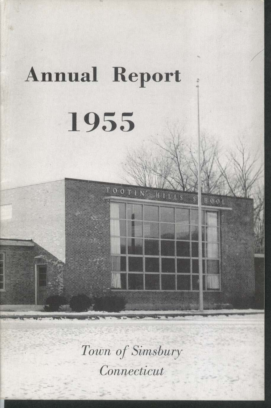 Simsbury Connecticut Annual Report 1955