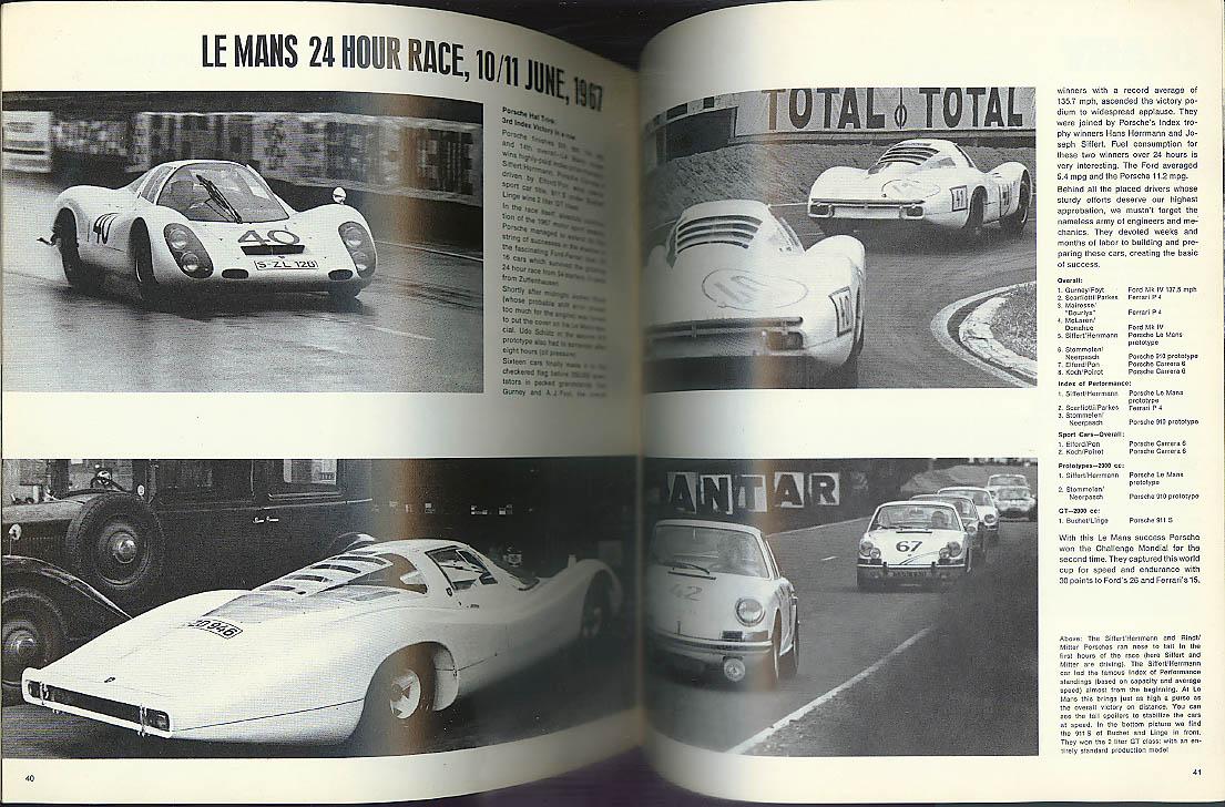 Porsche CHRISTOPHUS 8 1967: Le Mans; Targa Florio in 1922; 5-speed