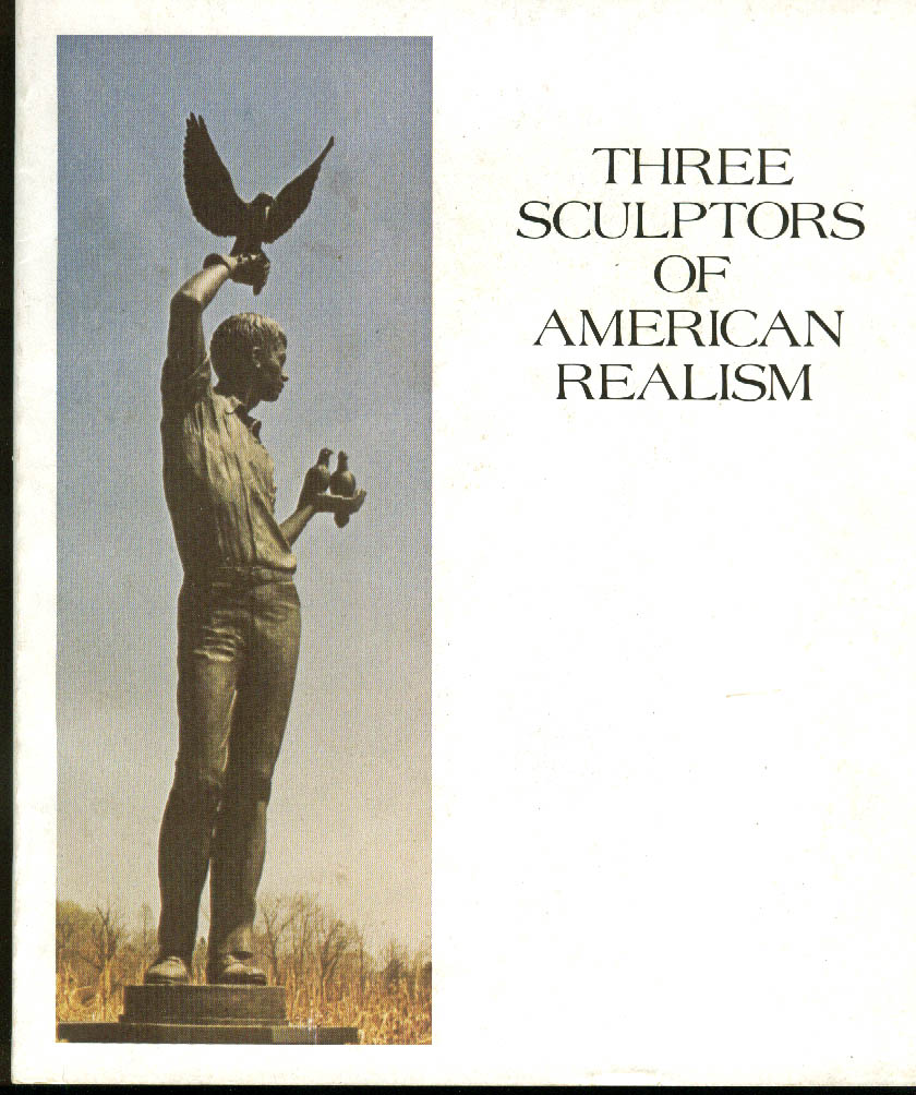 Charles Eric & Christopher Parks: 3 Sculptors of American Realism catalog 1973