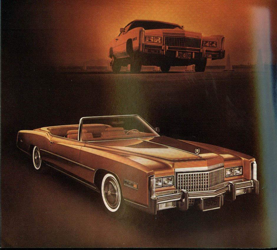 1975 Cadillac Fleetwood Brougham Eldorado Sedan Coupe De