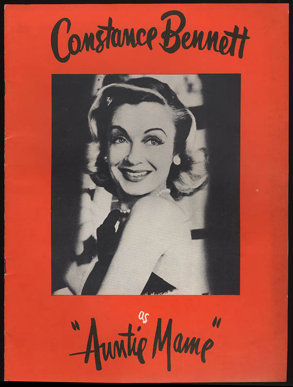 Constance Bennett as Auntie Mame musical program 1957