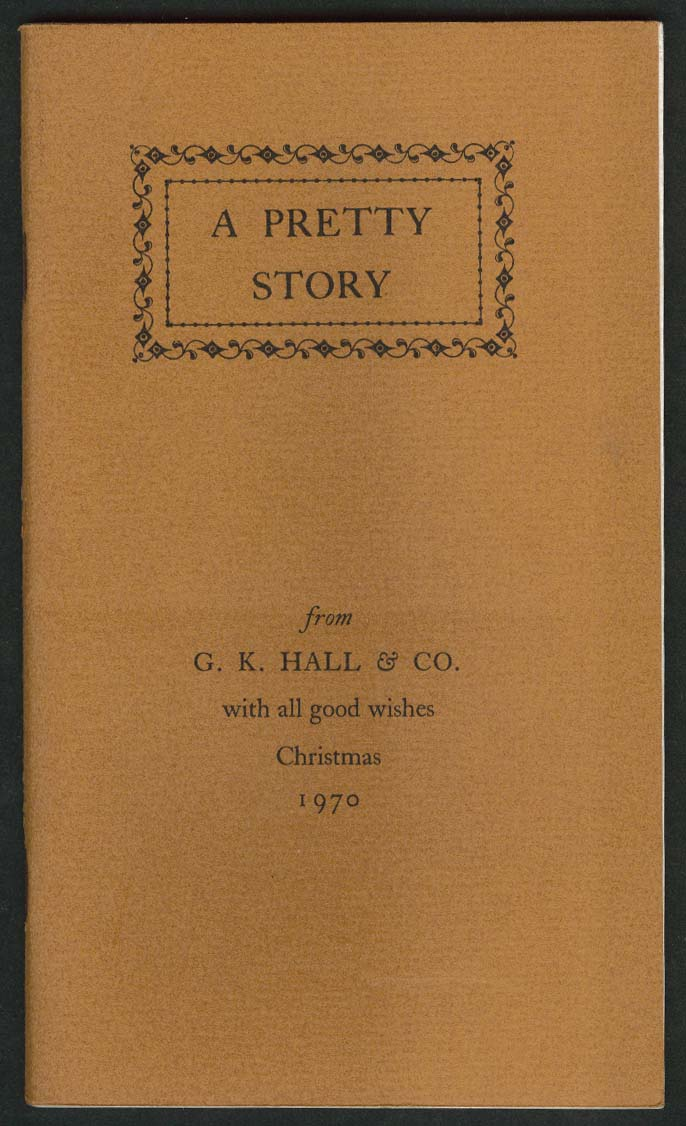 Peter Grievous A Pretty Story 1774 Christmas Keepsake G K Hall 1970