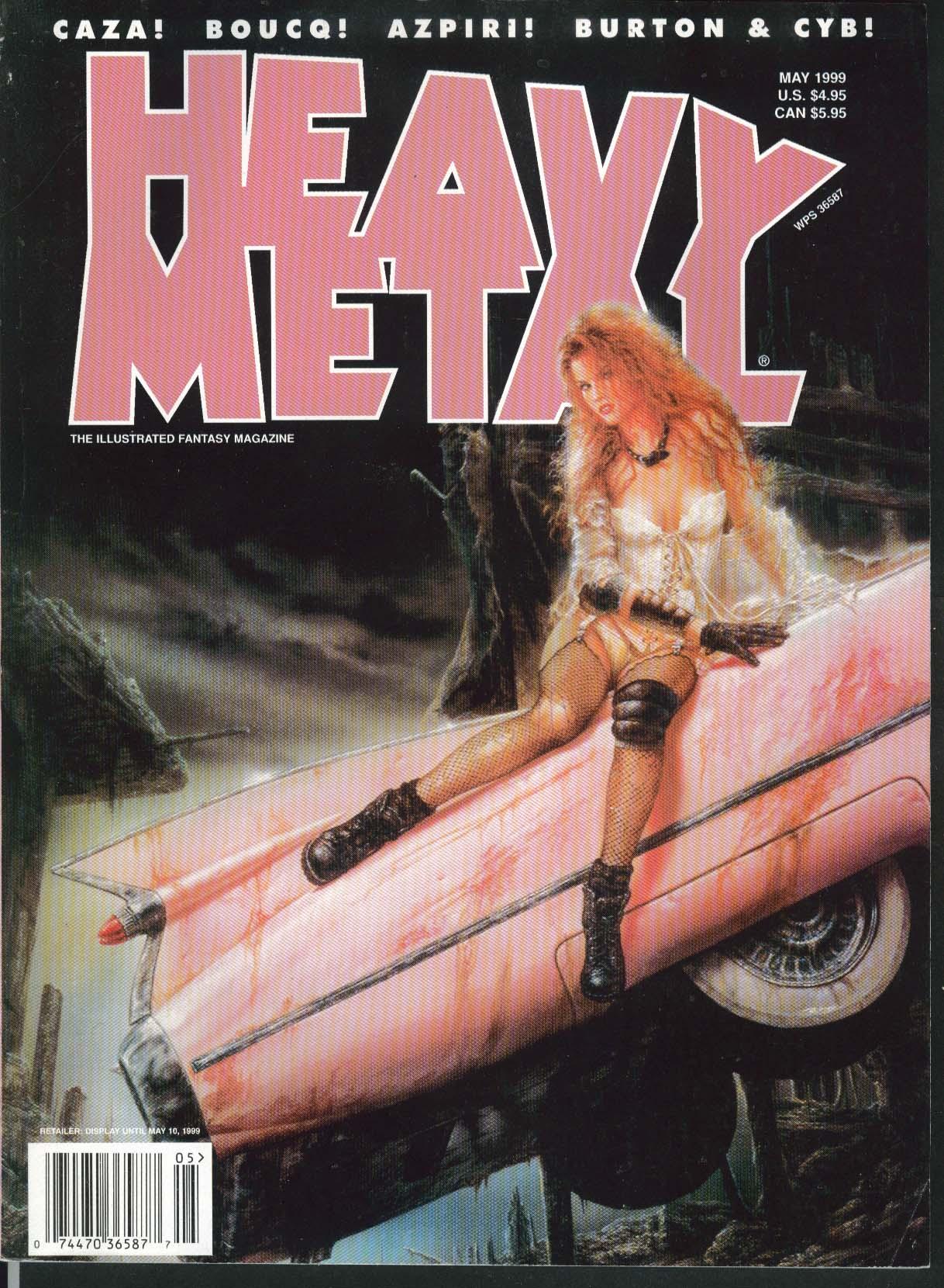 HEAVY METAL Caza Boucq Azpiri Burton Cyb Luis Royo 5 1999