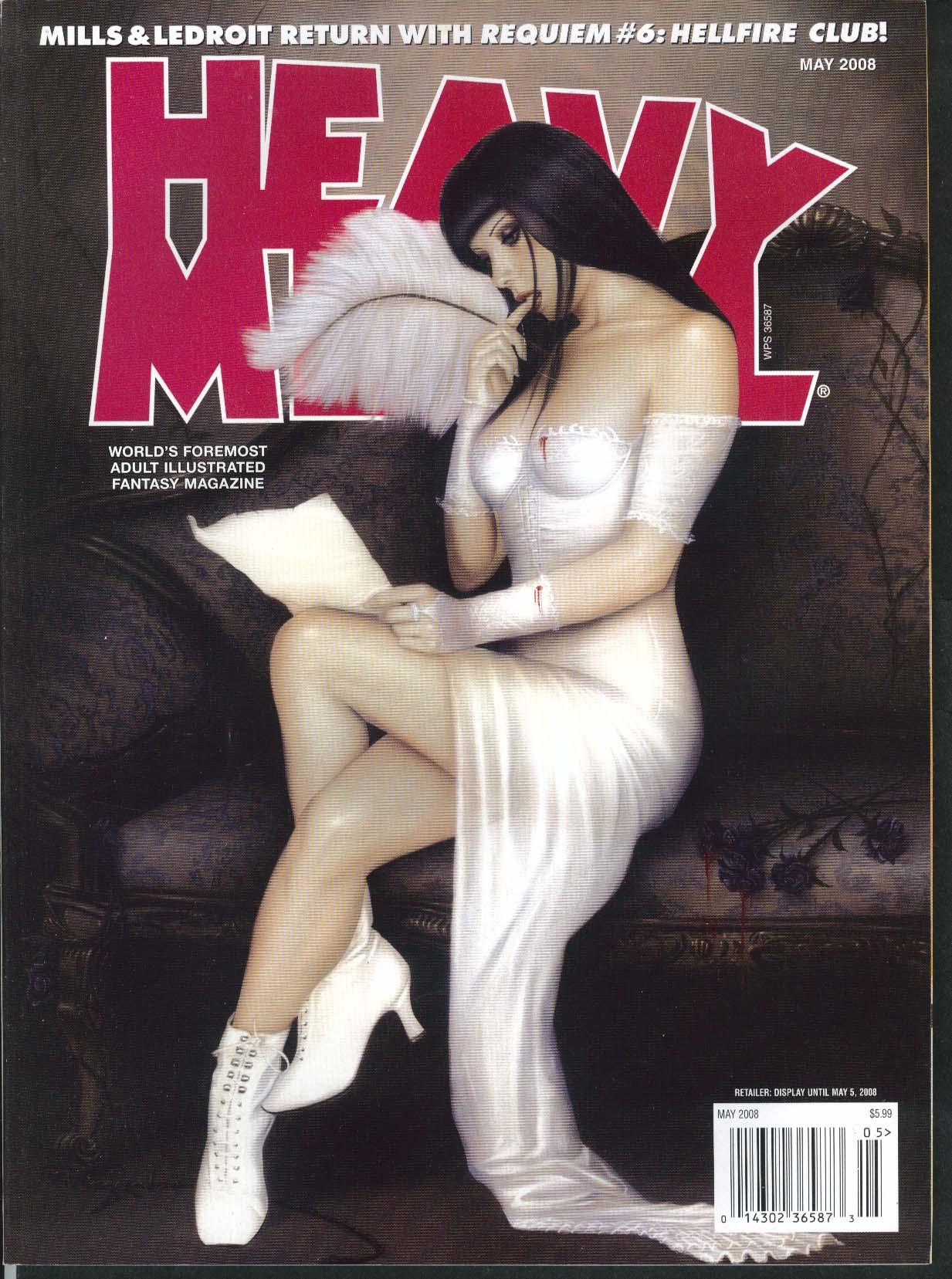 HEAVY METAL Mills Ledroit Requiem 6 Monte Moore Xalabarder + 5 2008