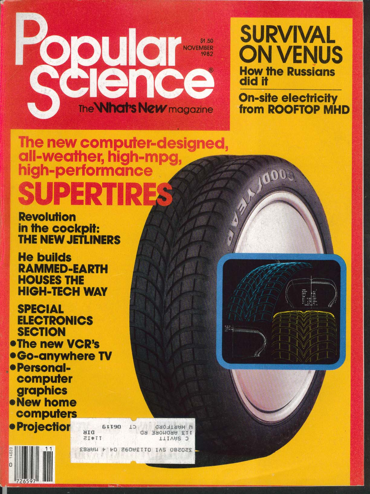 POPULAR SCIENCE Aero 2000 concept car Apple II software 11 1982