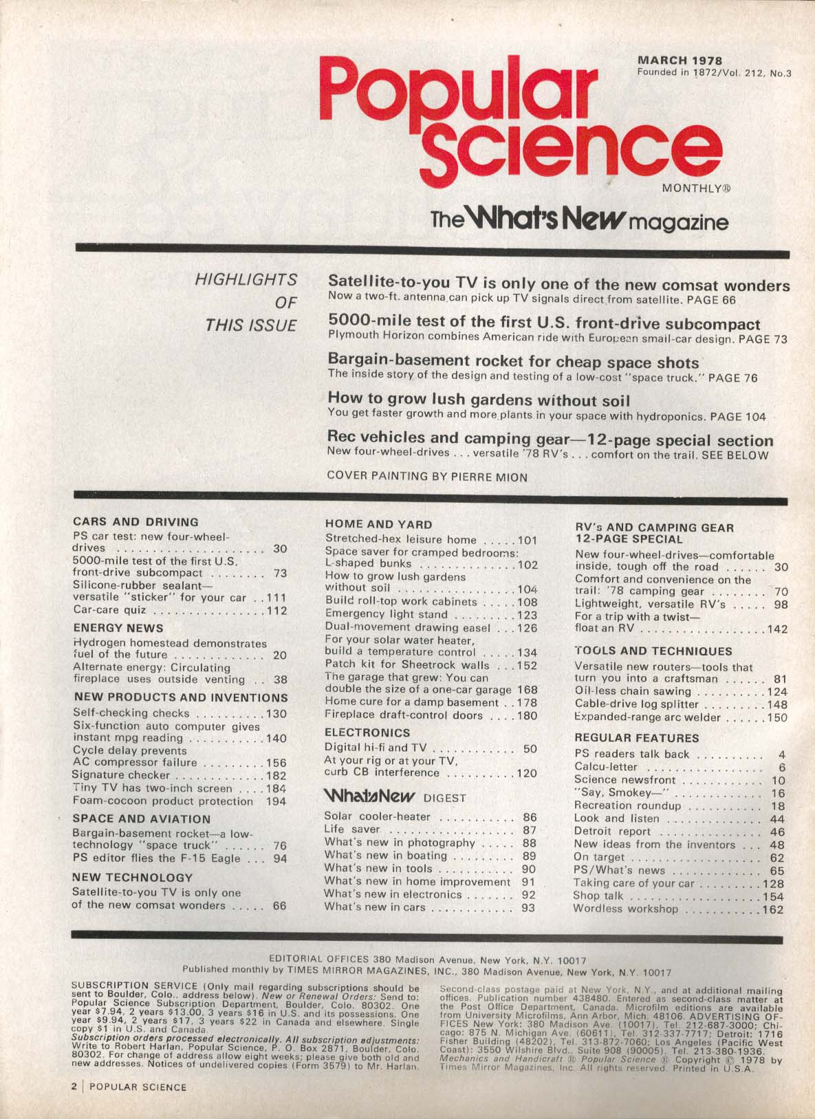POPULAR SCIENCE Silicone-rubber sealant F-15 Eagle AC compressor failure 3 1978