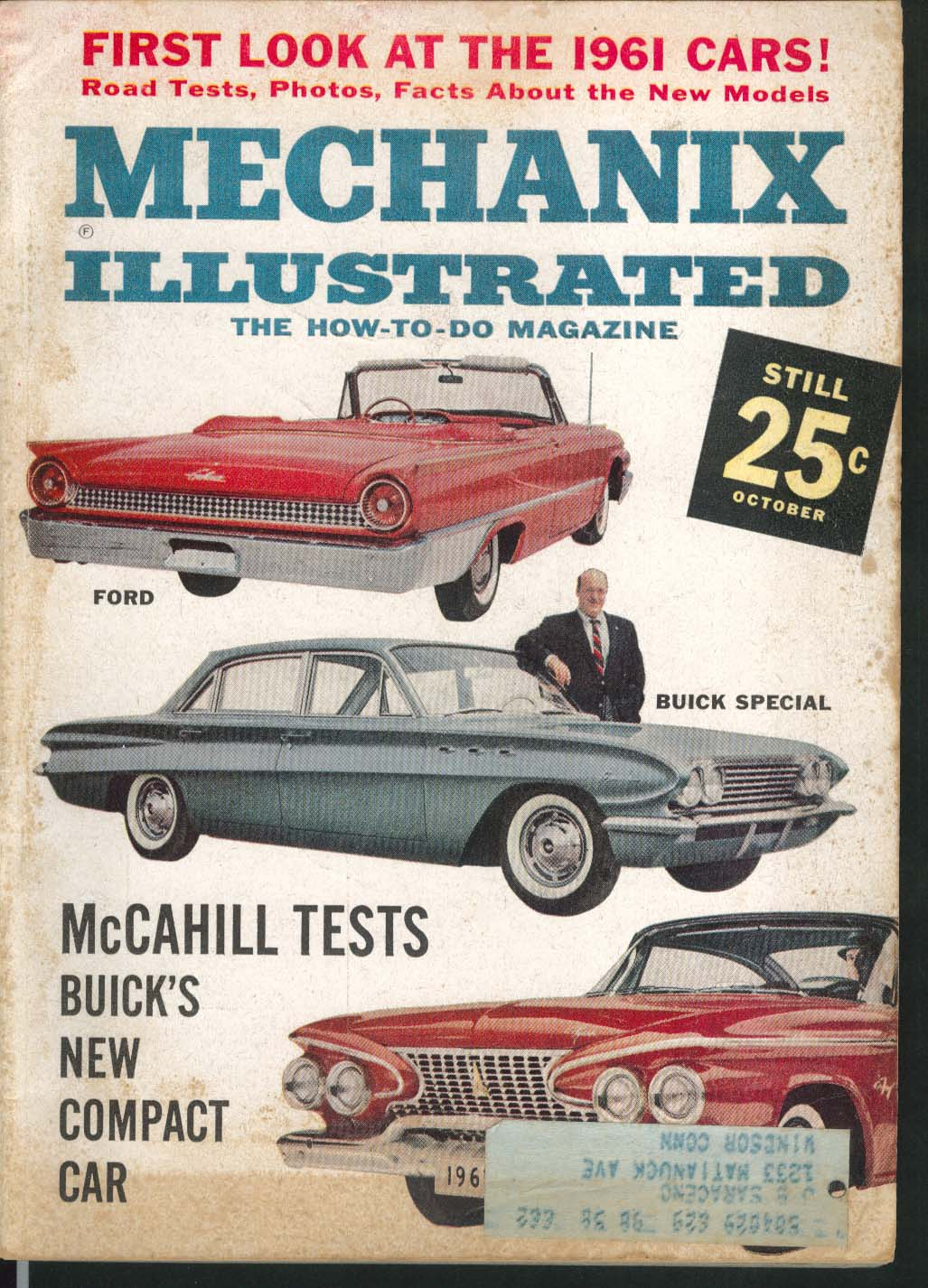 MECHANIX ILLUSTRATED Ford Buick Special road tests Four-Prop VTOL 10 1960