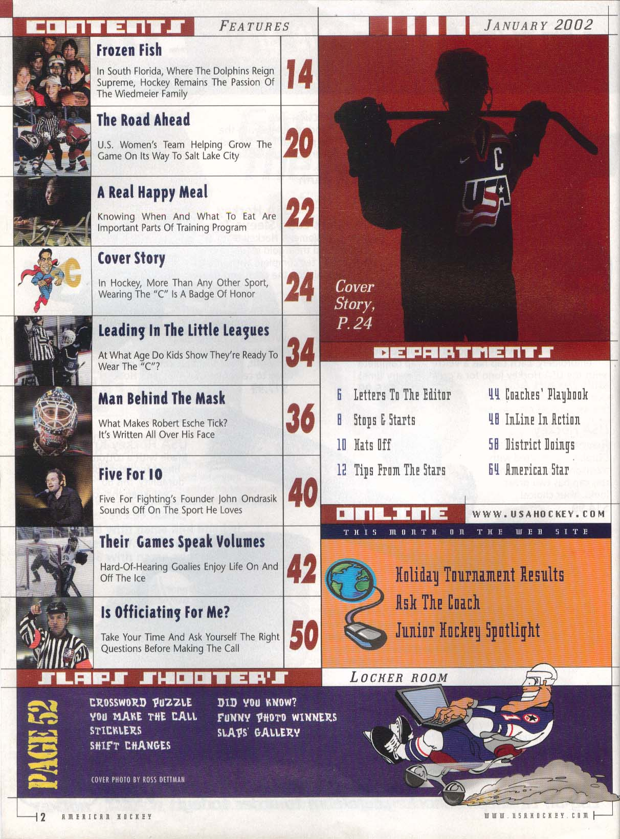 AMERICAN HOCKEY Five For Fighting John Ondrasik Bill Guerin 2 2002
