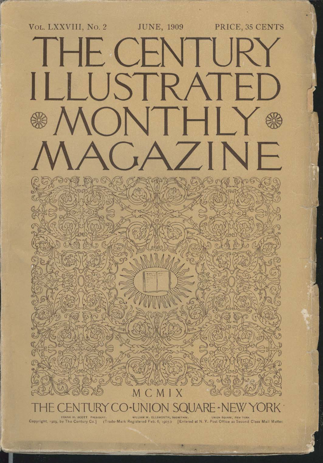 CENTURY ILLUSTRATED MONTHLY MAGAZINE Victor Rousseau Hildegarde Hawthorne 6 1909