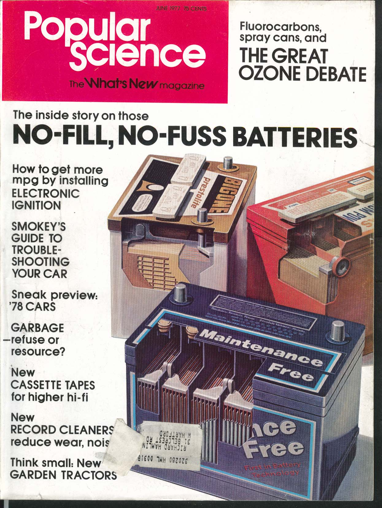 POPULAR SCIENCE Ozone Garden tractor Mazda GLC report 6 1977