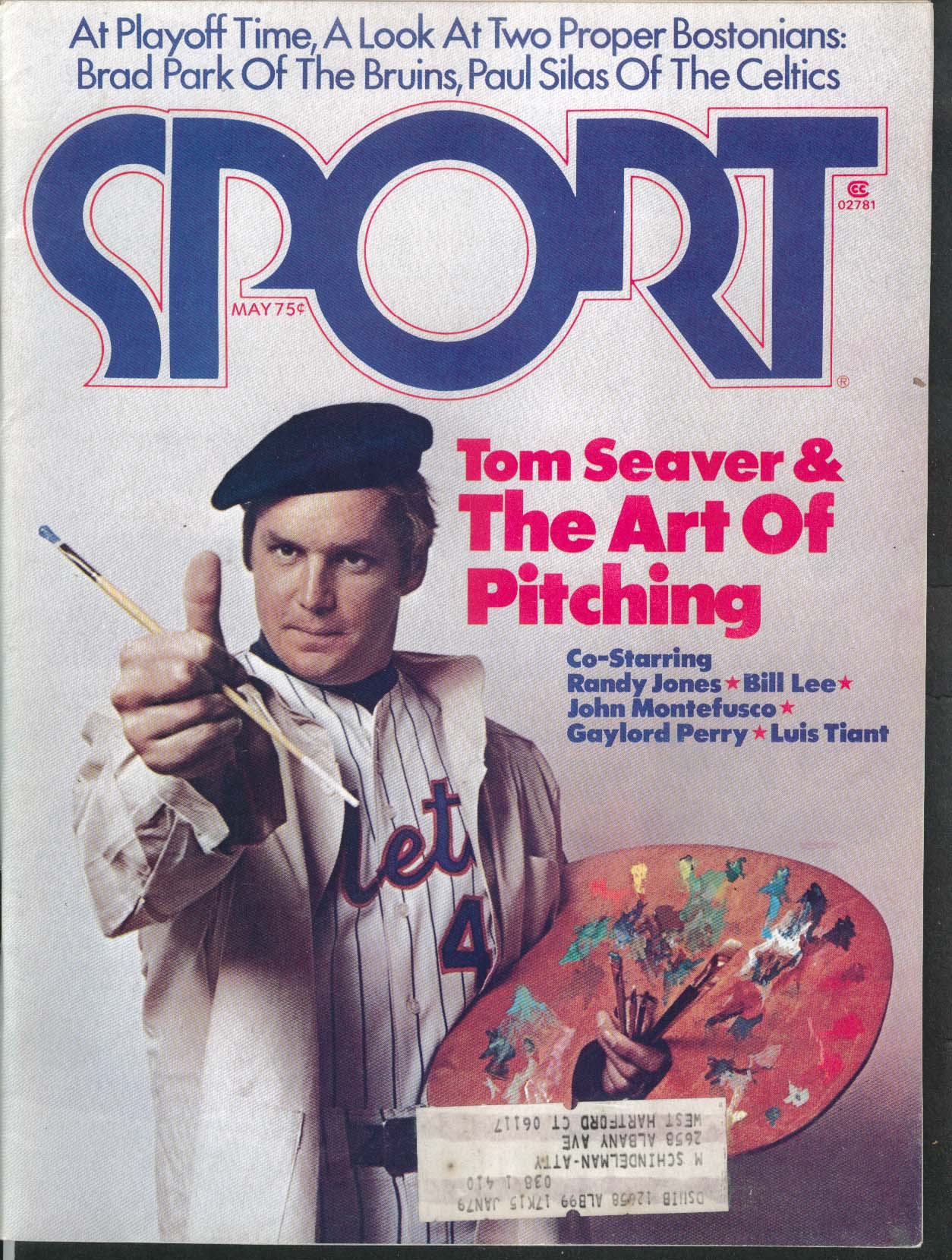 SPORT Tom Seaver Randy Jones Bill Lee Paul Silas Brad Park Bill Lee 5 1976