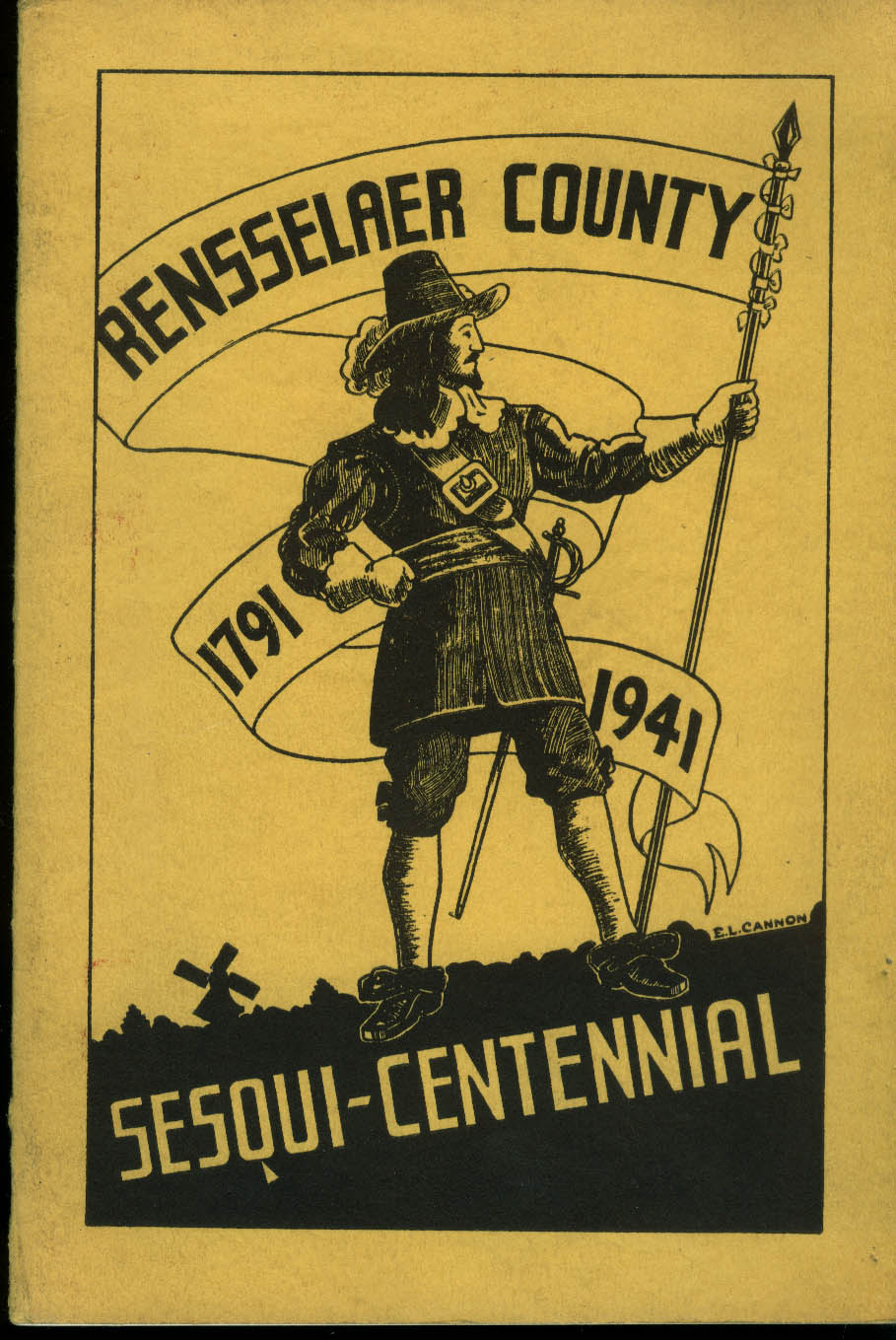 Rensselaer County Sesqui-centennial Prgm 1791-1941 Work Projects Admin WPA NY