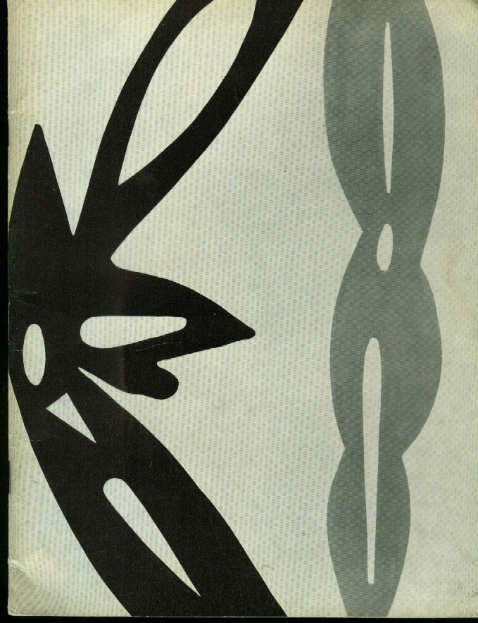 Image for Ernst Wilhelm Nay TWICE SIGNED exhibition catalog St Gallen Germany 1968