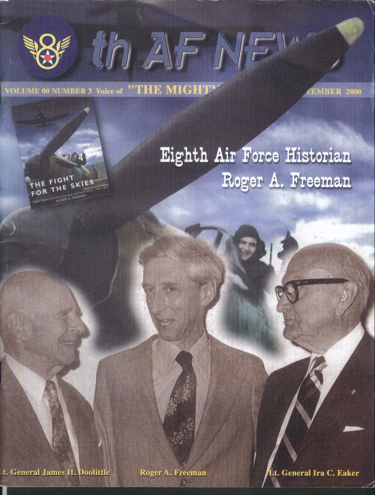 8th AF NEWS Historian Roger A Freeman 9 2000