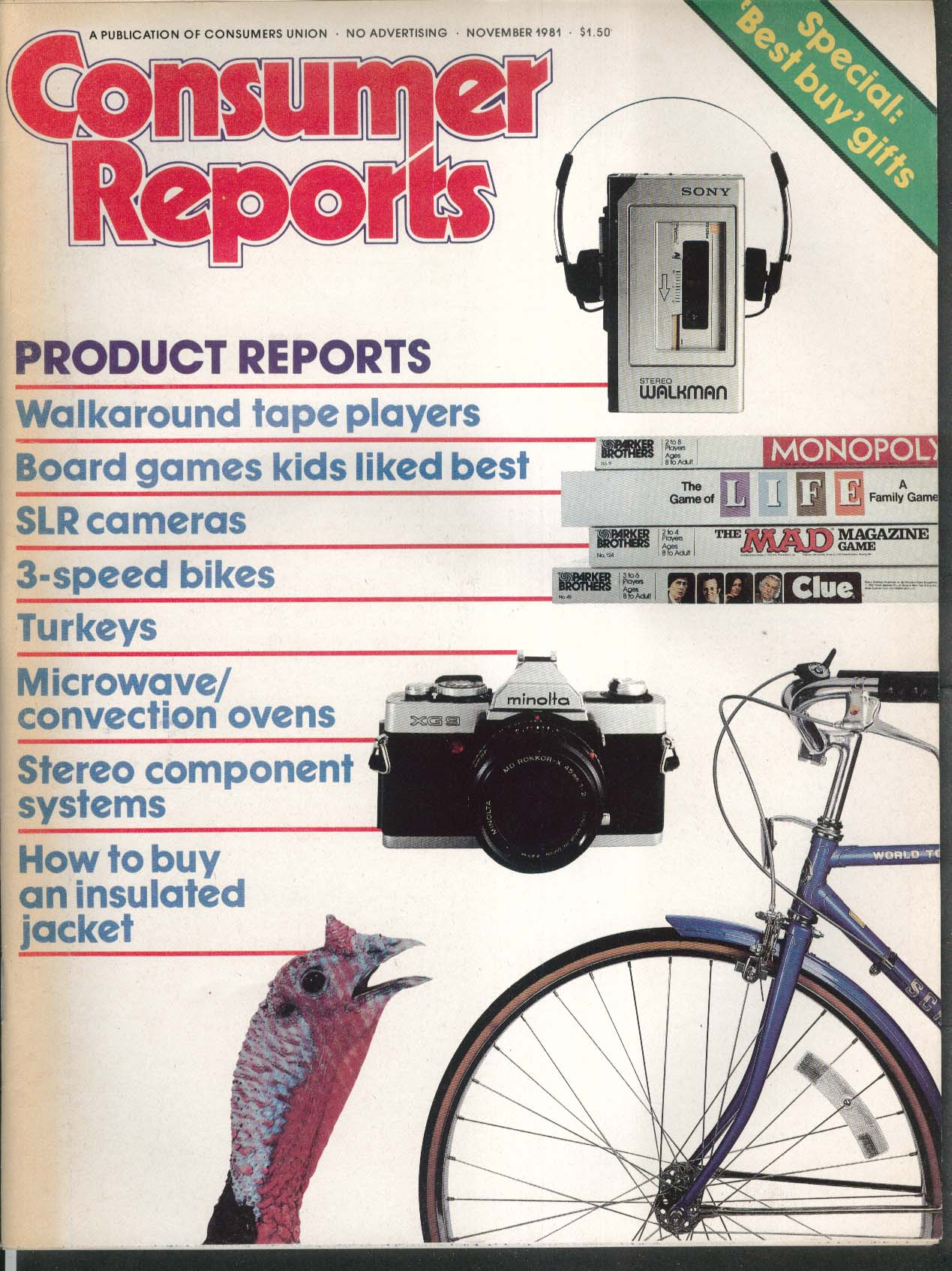 consumer reports bicycles