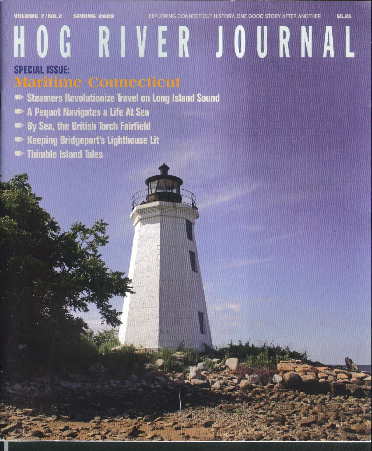 HOG RIVER JOURNAL V7 #2 George Comer New London Jibboom Club + Spring 2009