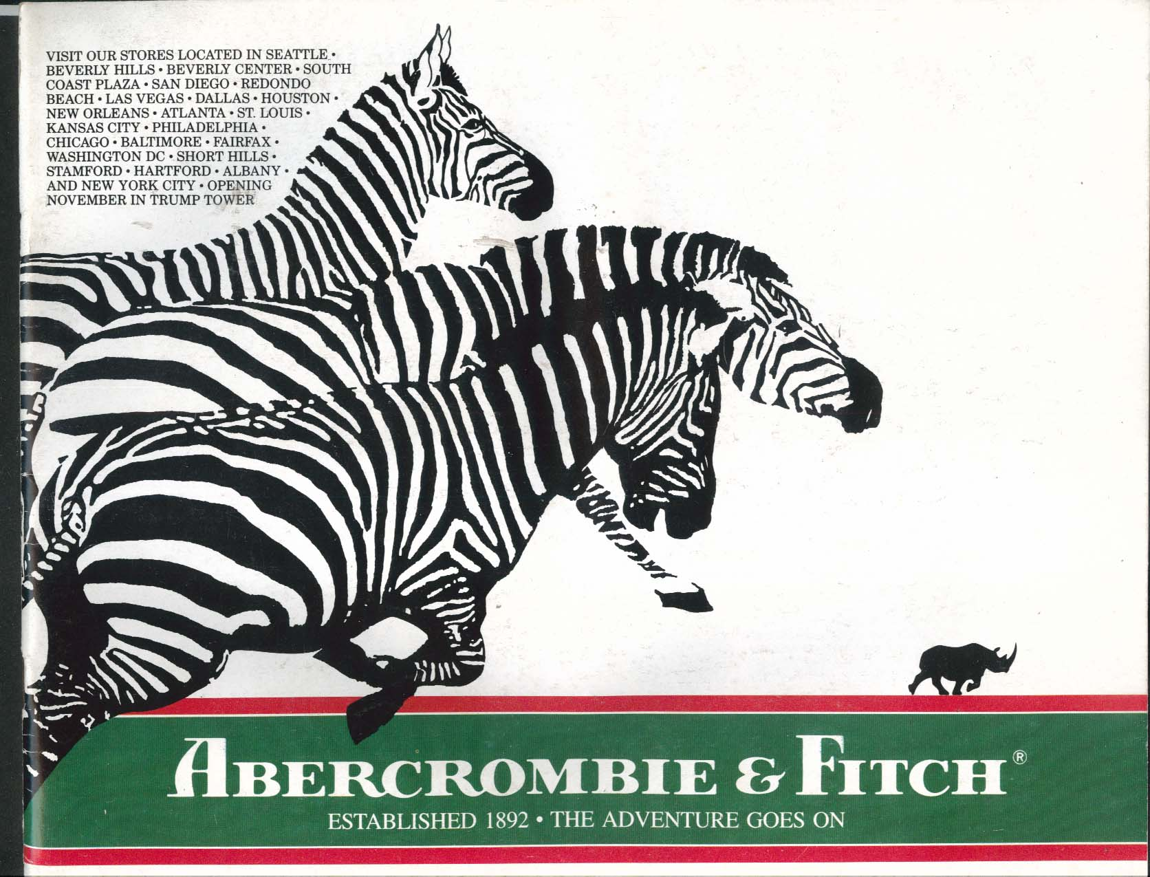 Abercrombie & Fitch Autumn-Winter 1986 Catalog