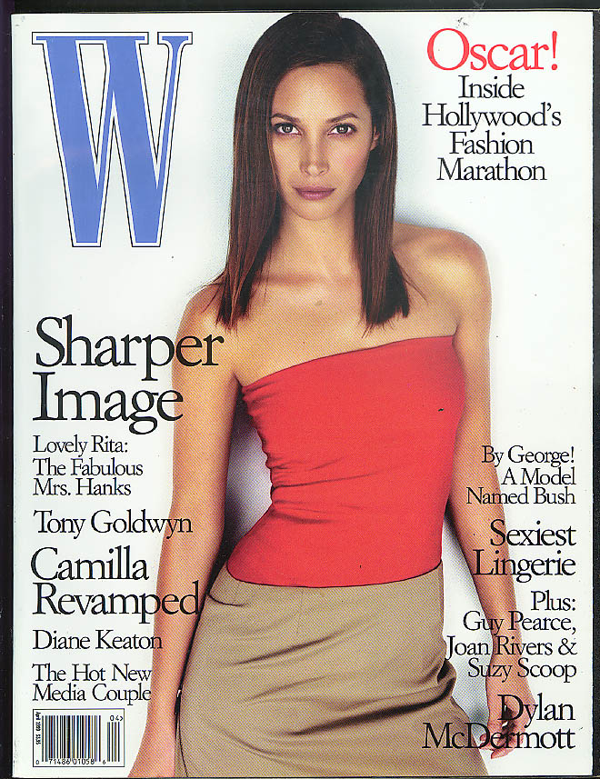 Image for W 9 1998: Gary Sinise Billy Crudup Avedon Weber Helmut Lang Vera Wang