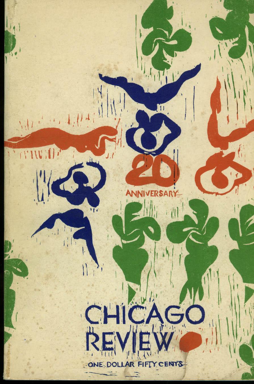 CHICAGO REVIEW V18n Singer Levertov Kinnell Edson Wright + 3 & 4 1966