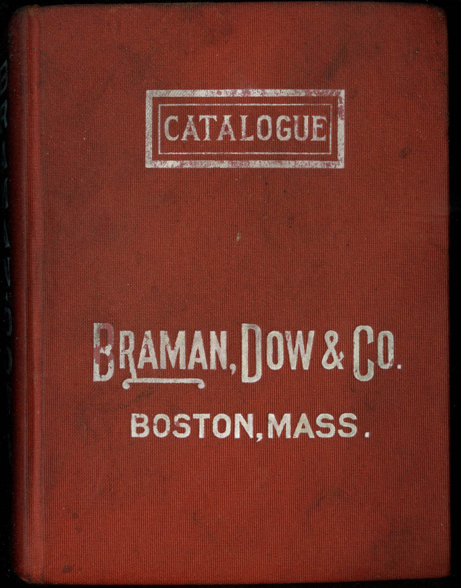 Barman Dow Catalogue 1913 Wrought Pipe Fittings Valves Steam Plumbing +