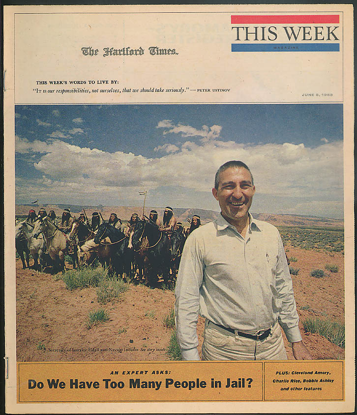 THIS WEEK Udall & the Navajo; John Davidson; Jails too Full? 6/8 1968
