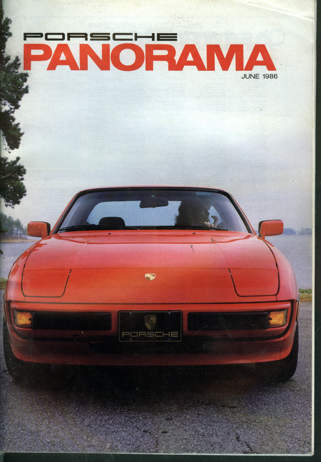 PORSCHE PANORAMA 924S Fran Ussery 959 914 6 1986