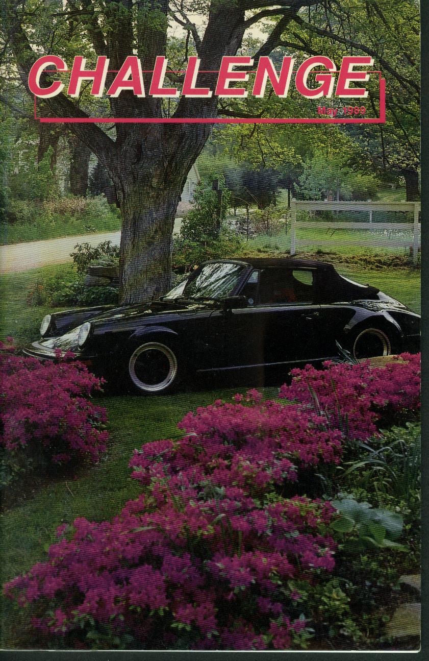 CHALLENGE Connecticut Valley Region Porsche Club of America 5 1989