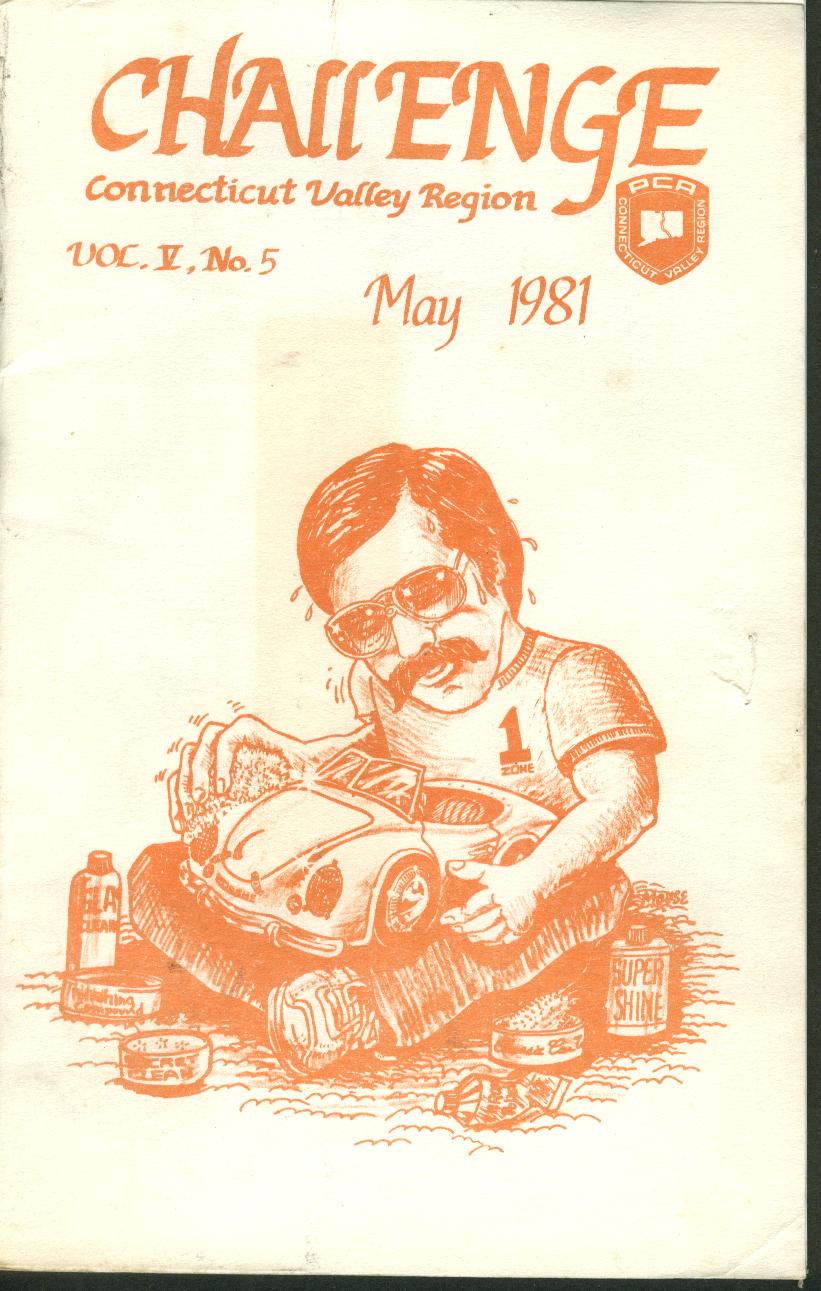 CHALLENGE Connecticut Valley Region Porsche Club of America 5 1981