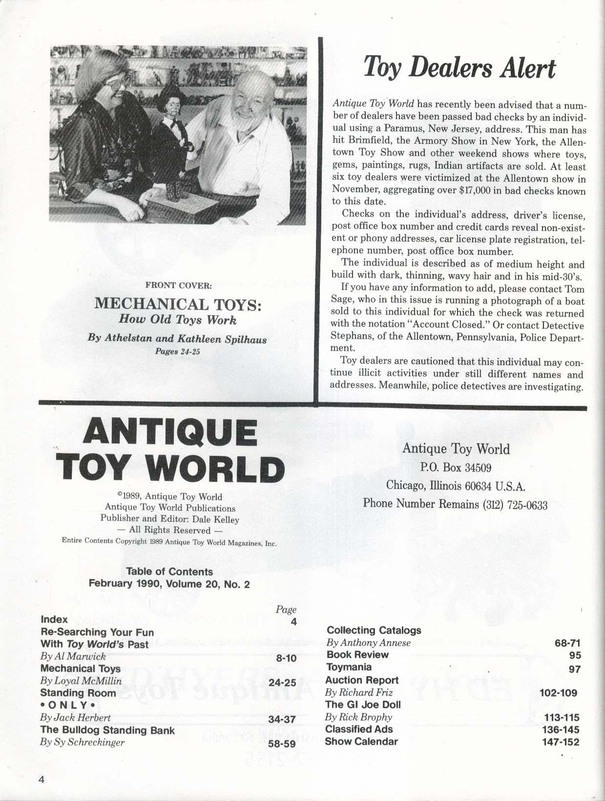 ANTIQUE TOY WORLD Mechanical Toys Bulldog Standing Bank GI Joe 2 1990
