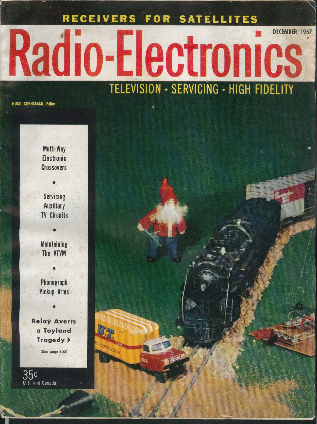 RADIO-ELECTRONICS Multi-Way Crossovers Auxiliary TV Circuits