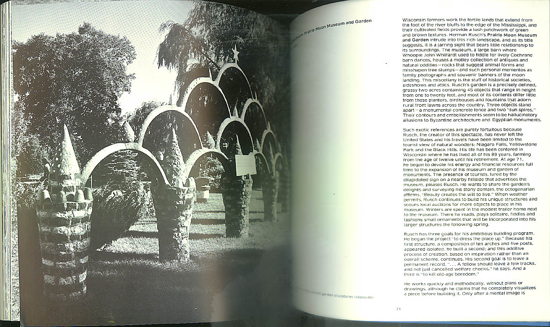 Naives & Visionaries Roadside Sculpture Exhibit catalog 1974