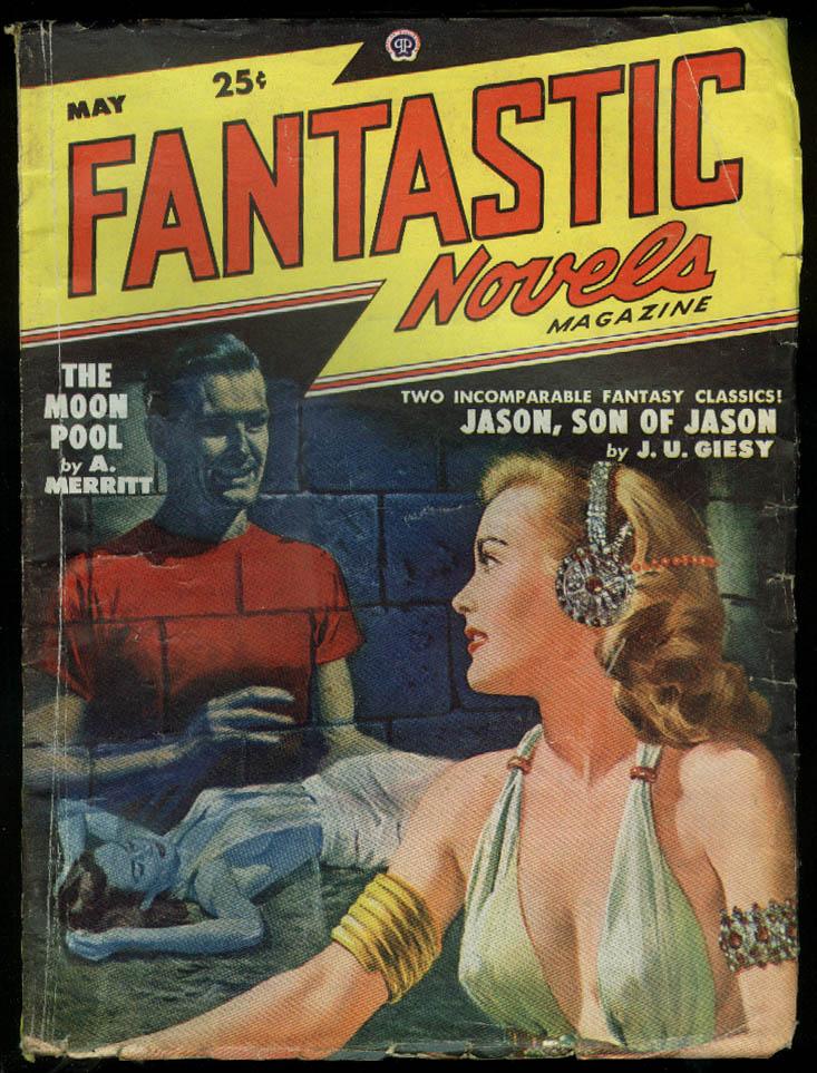 Image for FANTASTIC NOVELS GGA pulp J U Giesy A Merritt 5 1948
