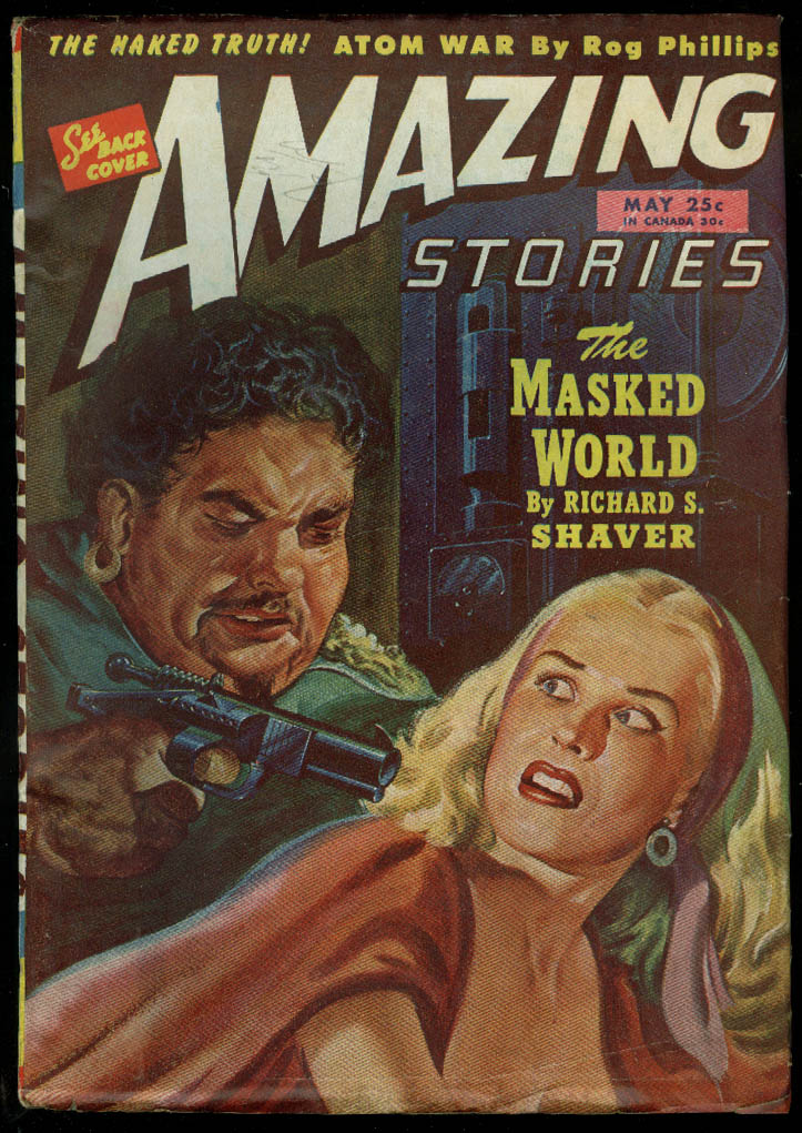 AMAZING STORIES pulp GGA Shaver Phillips Cooke de Courcy Hickey O'Brien 5 1946