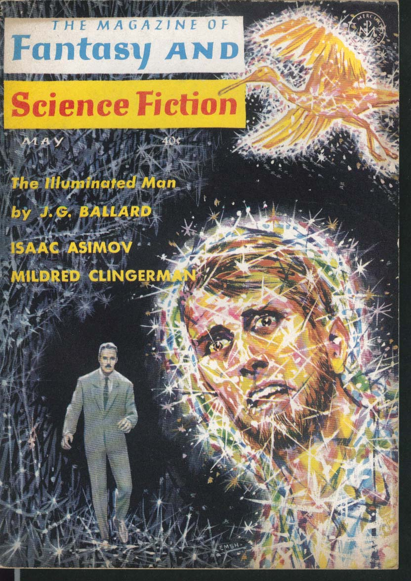 FANTASY & SCIENCE FICTION J G Ballard Isaac Asimov Mildred Clingerman 5 1964