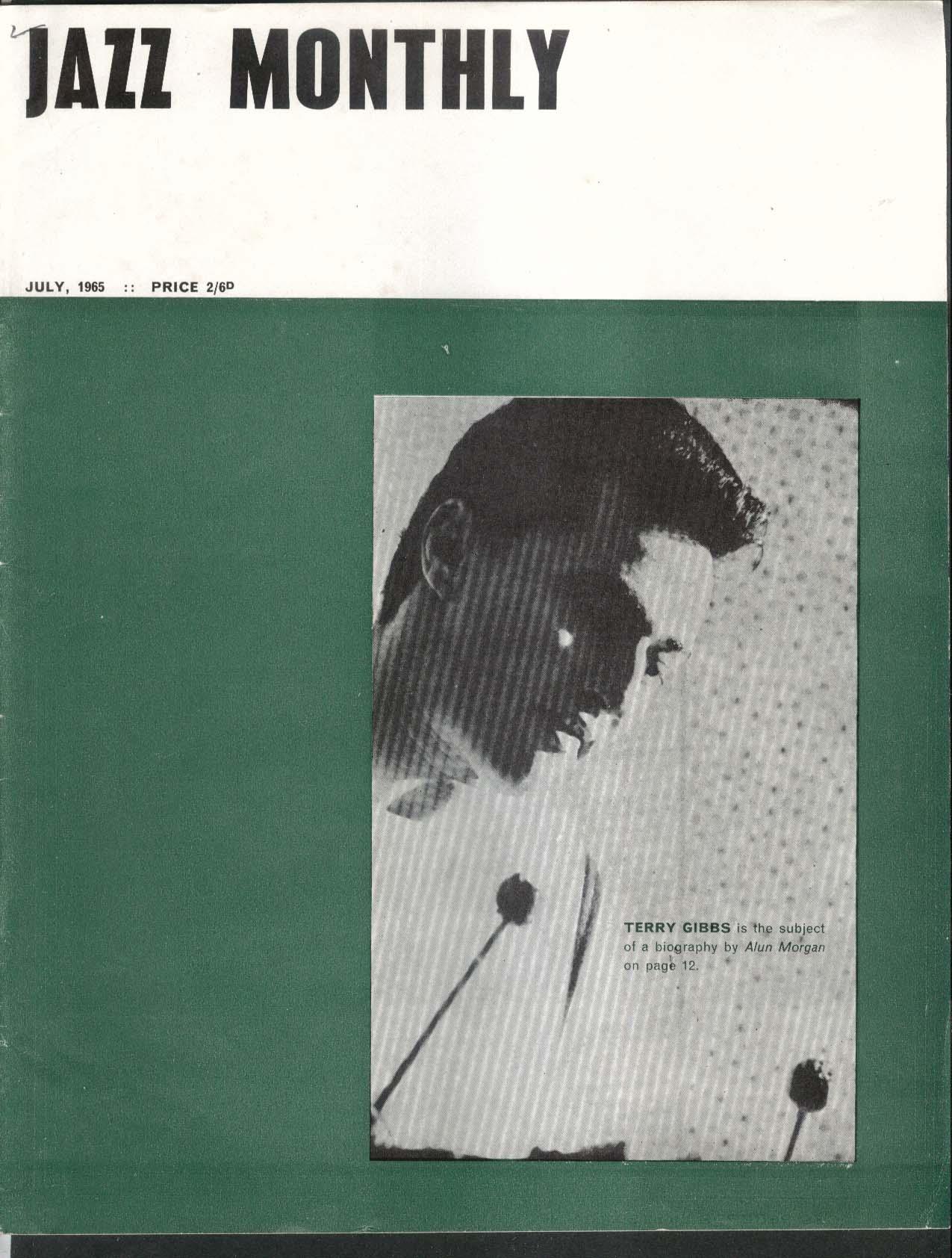 JAZZ MONTHLY Terry Gibbs Bill Evans Ben Webster 7 1965