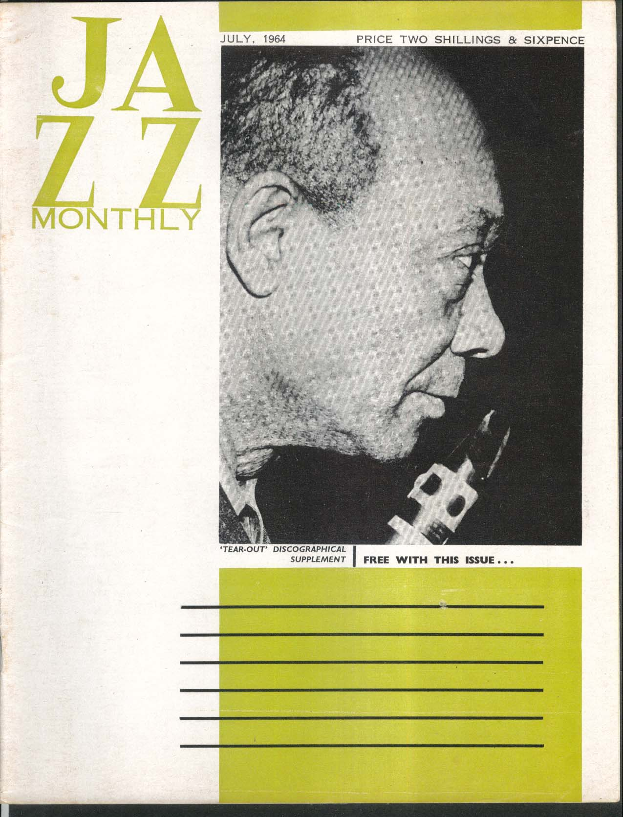 JAZZ MONTHLY Edmond Hall Cecil Payne Cannonball Adderly 7 1964