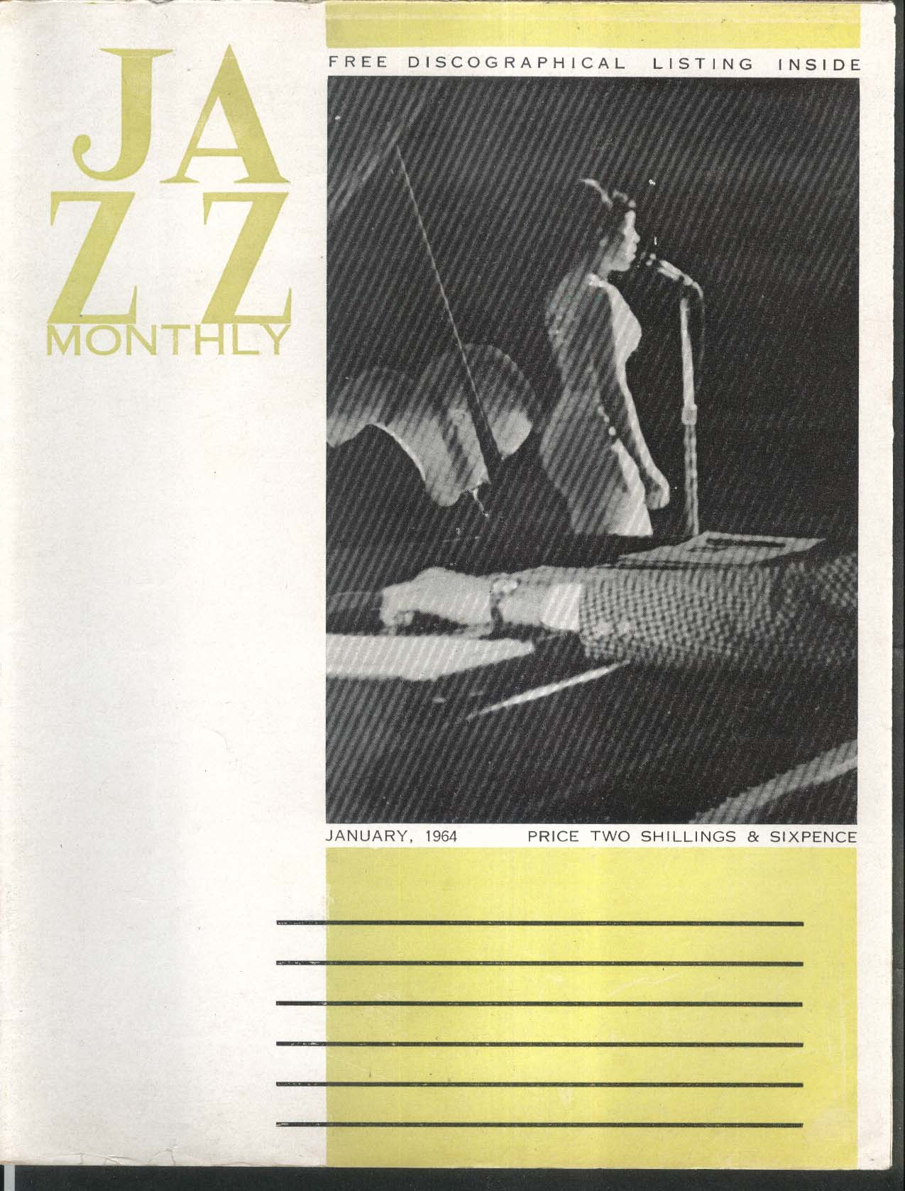 JAZZ MONTHLY Curtis Jones Duke Ellington 1 1964