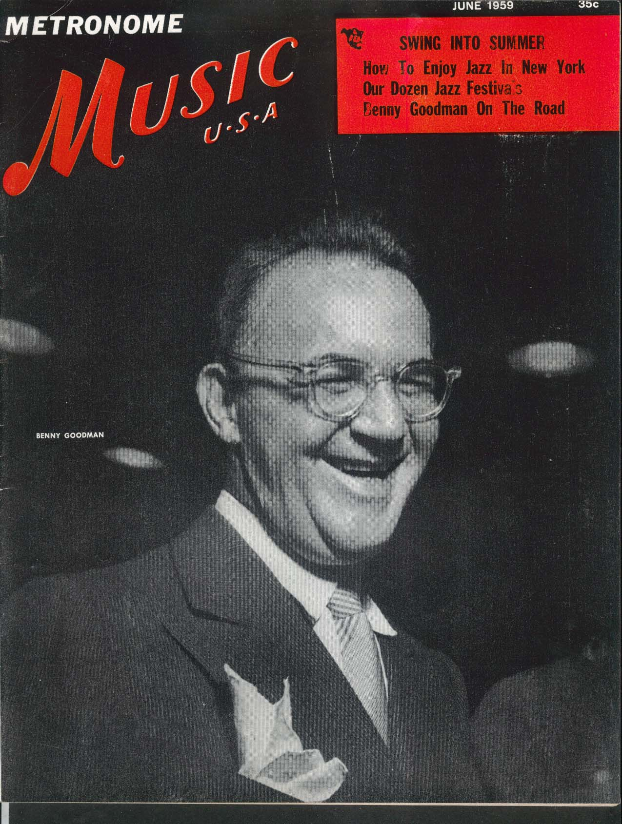 Metronome MUSIC USA Benny Goodman Bill Russo 6 1959
