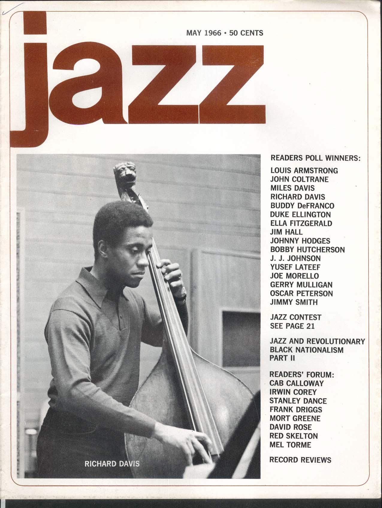 JAZZ Richard Davis Louis Armstrong John Coltrane Miles Davis Ellington 5 1966