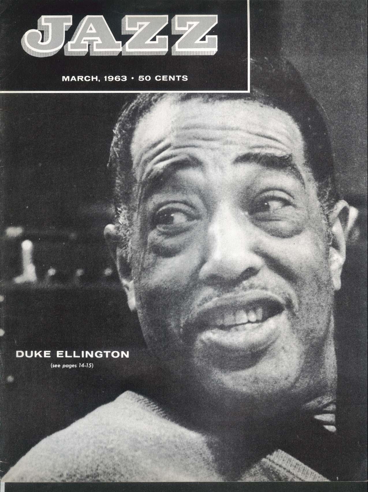 JAZZ Duke Ellington special issue 3 1963