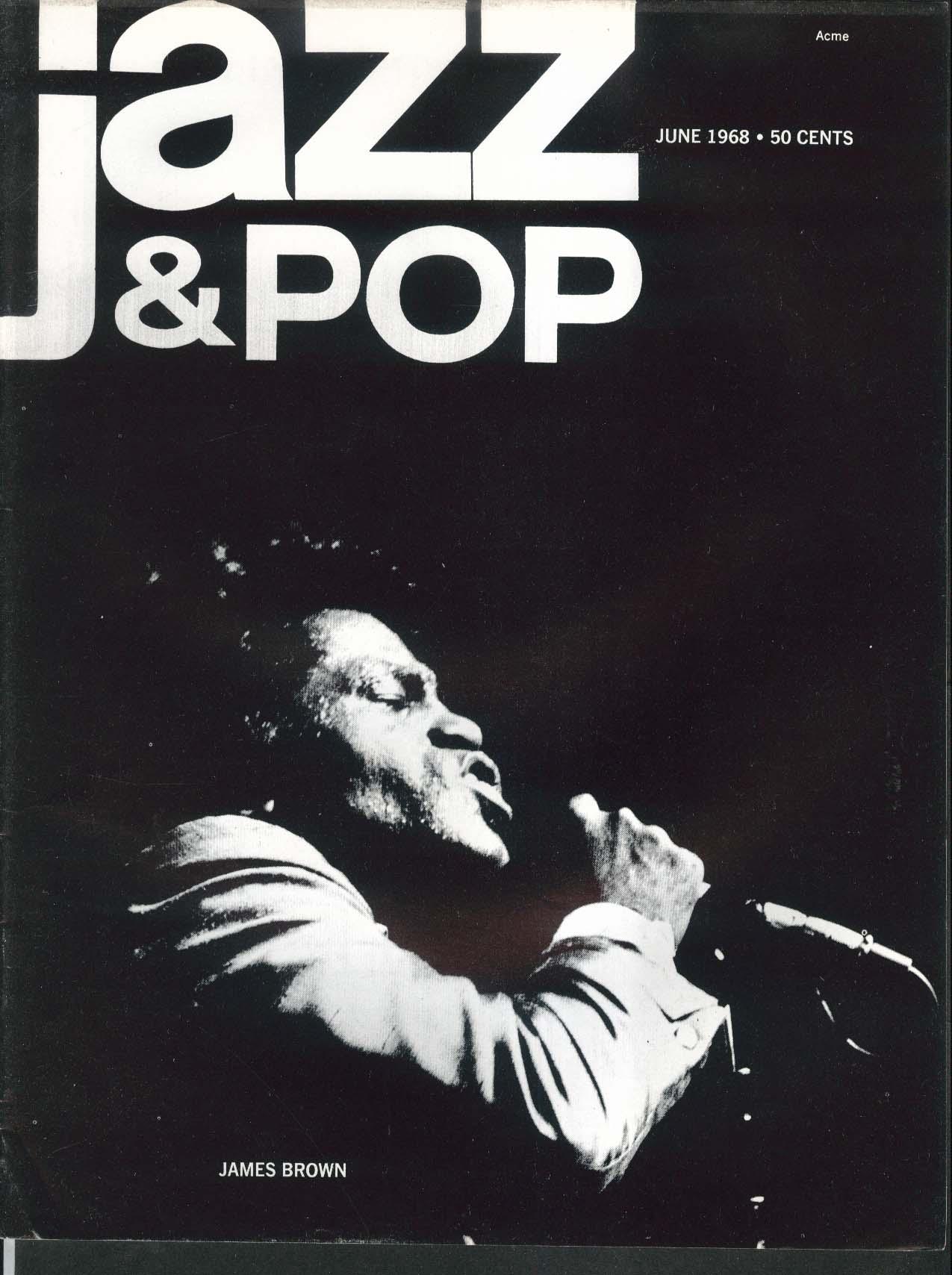 JAZZ & POP James Brown Archie Stepp Transcendental Meditation 6 1968