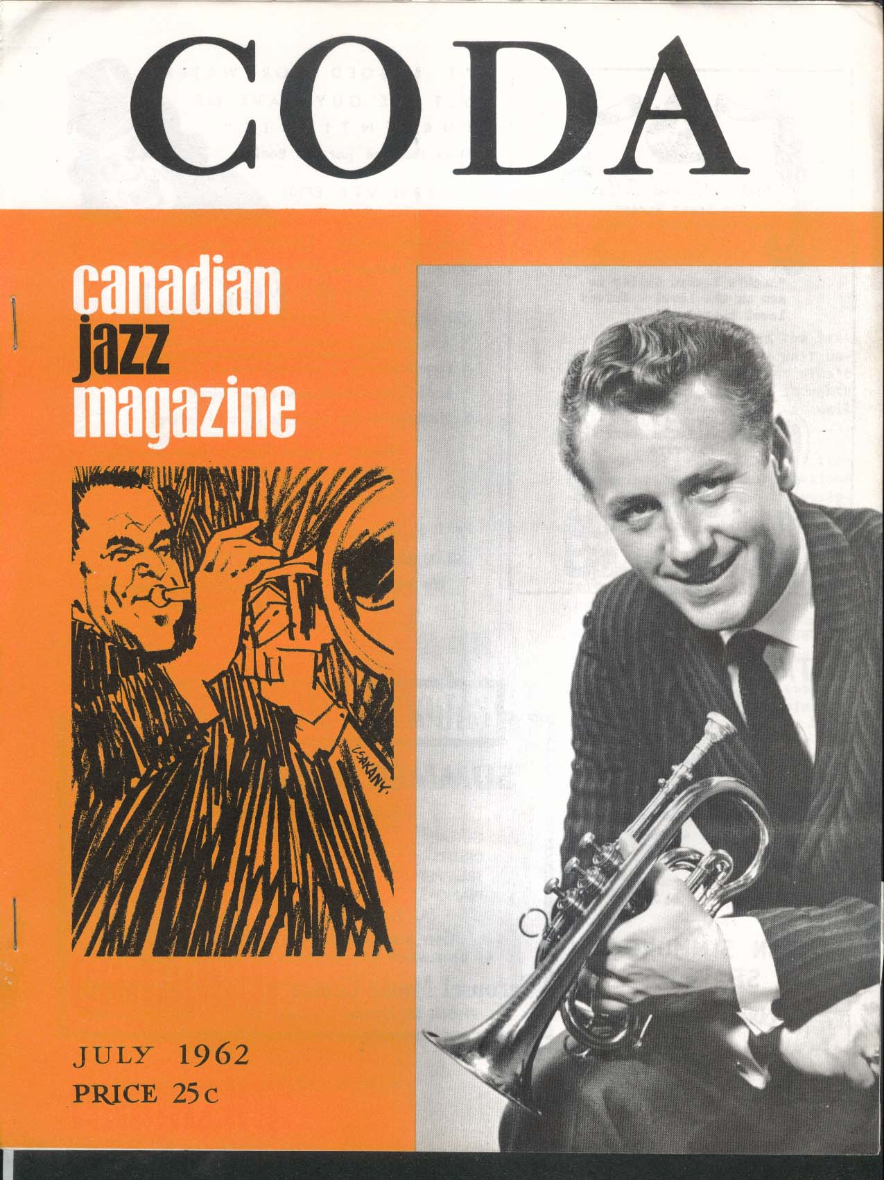 CODA V4 #12 Canadian Jazz Magazine Mike White 7 1962