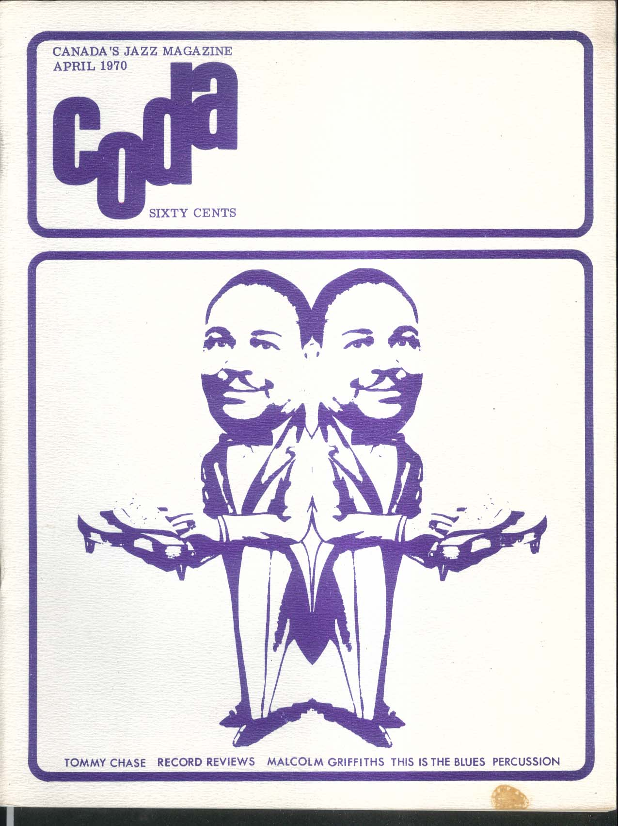 CODA Tommy Chase Malcolm Griffiths 4 1970