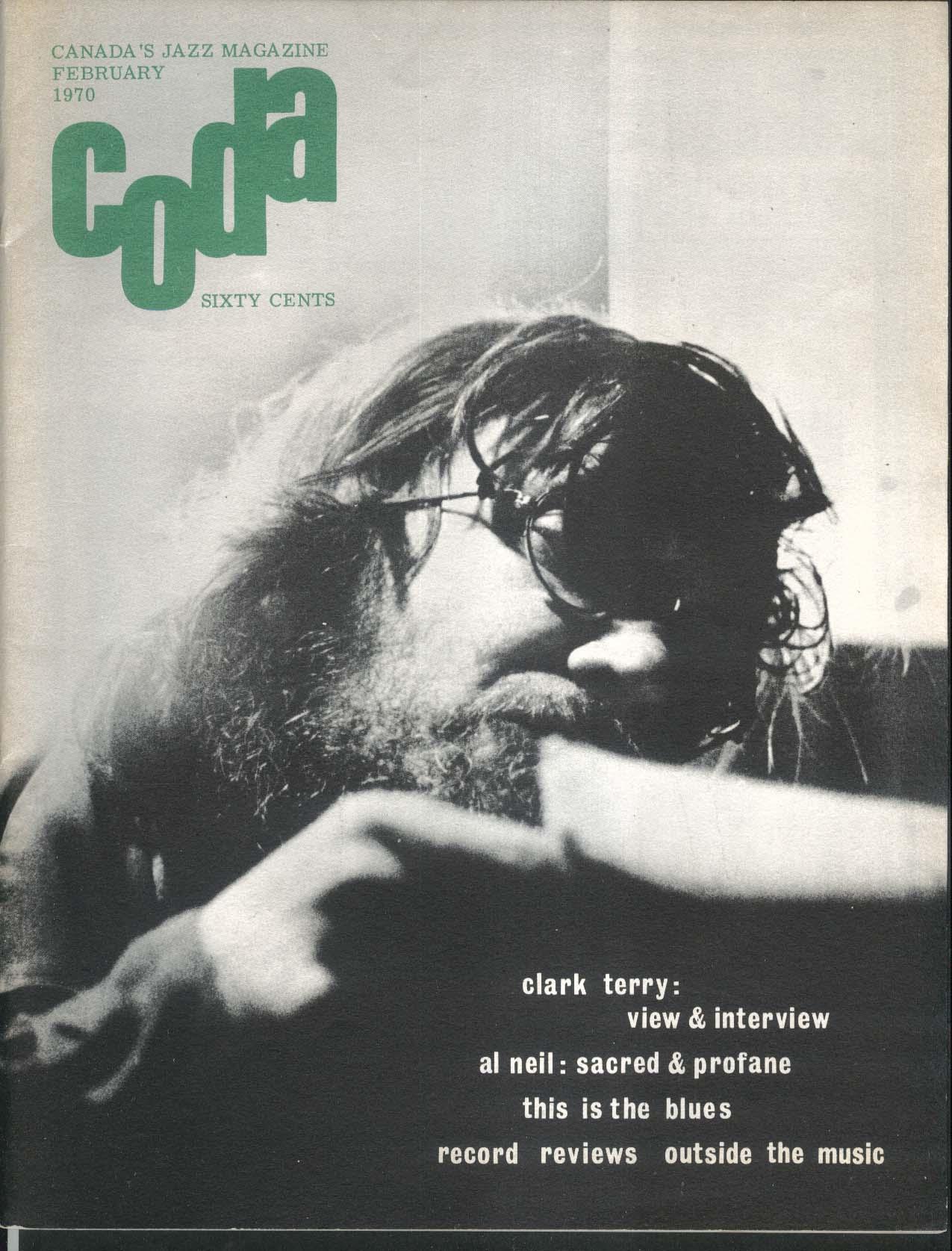 CODA Clark Terry Al Neil Jazz Album Design David Spitzer 2 1970