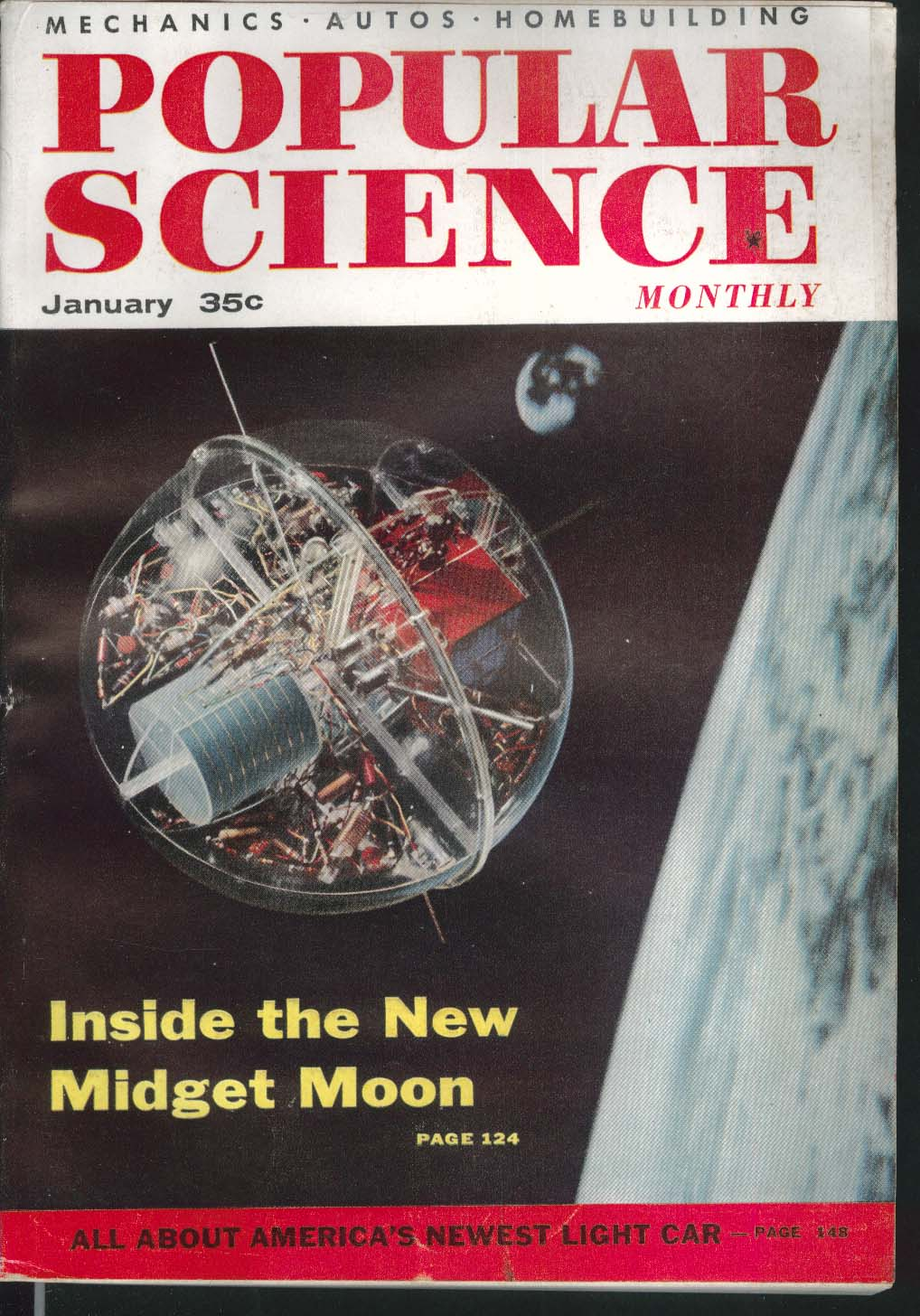 POPULAR SCIENCE Rambler Prefab Locomotives Air Force South Pole 1 1956