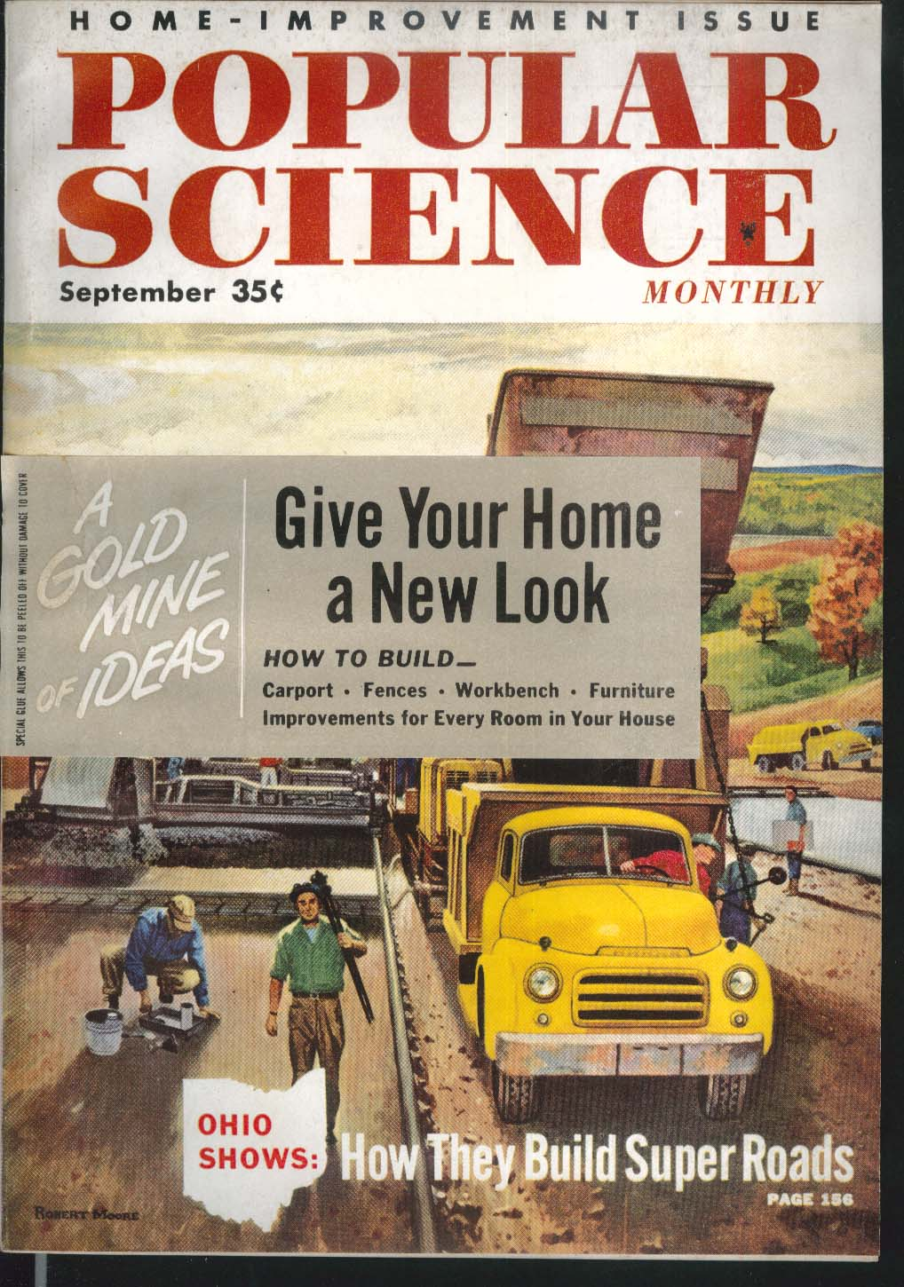 POPULAR SCIENCE Home-Improvement Projects Air Force Emergency Squad 9 1955