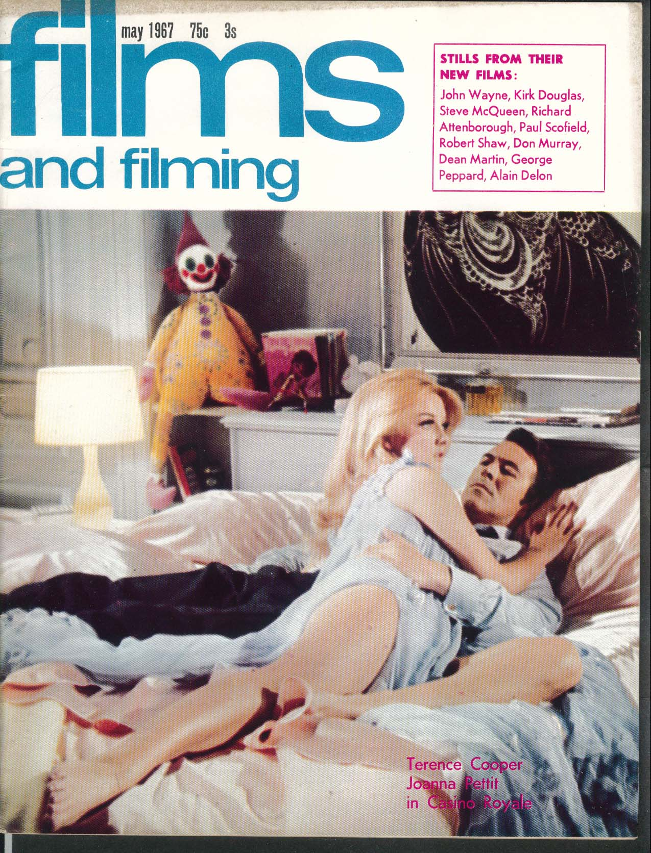 FILMS & FILMING Richard Attenborough Zinnemann Saul Kahan Casino Royale + 5 1967